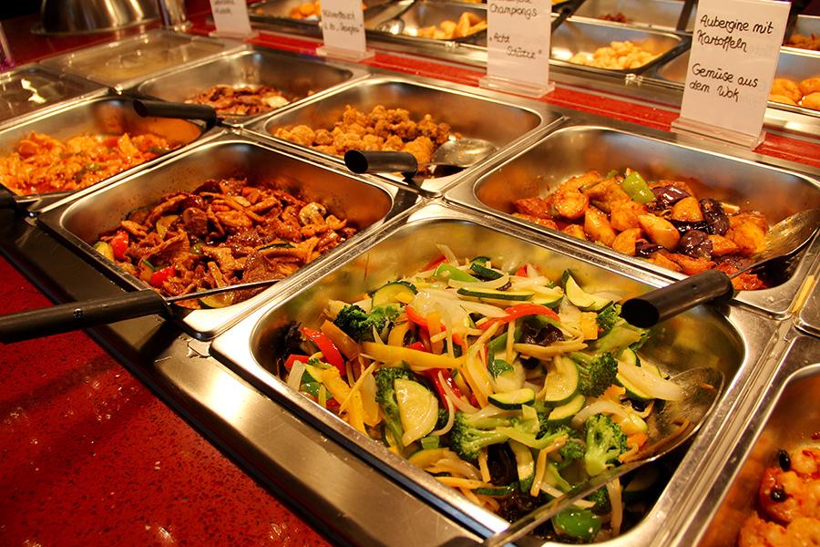 Carte Restaurant China Wok